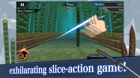 Samurai Sword - screenshot
