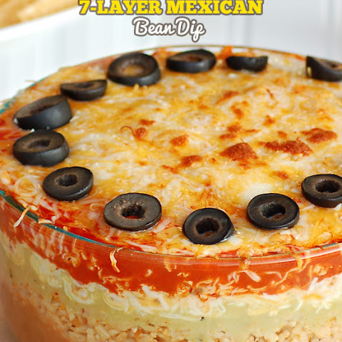 7 Layer Mexican Bean Dip