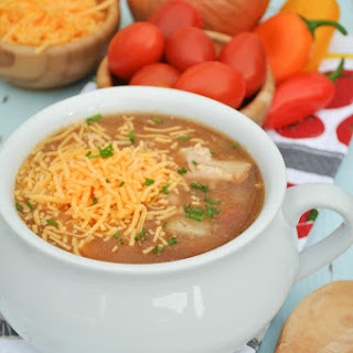 Slow Cooker Barbecue Chicken Soup
