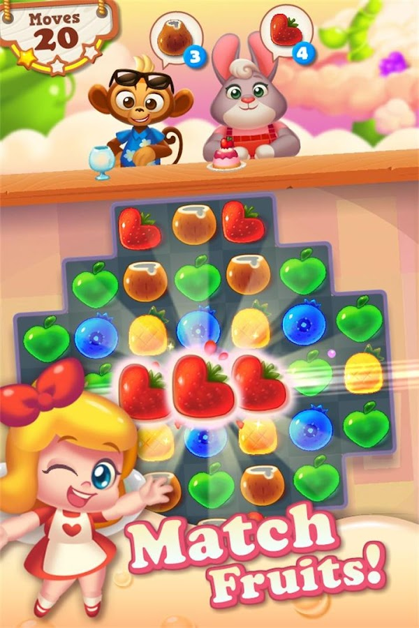 Tasty Treats - A Match 3 Puzzle Game Screenshot