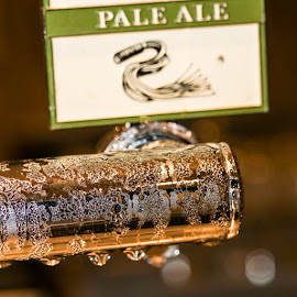 Cold beer on tap by Mark Hewetson - Food & Drink Alcohol & Drinks ( beer, cold, condensation, ice, tap,  )