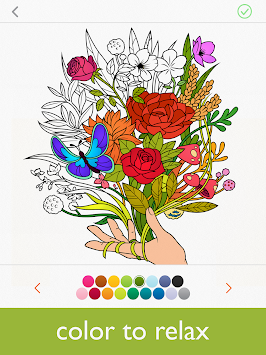Colorfy - Coloring Book Free APK screenshot thumbnail 1
