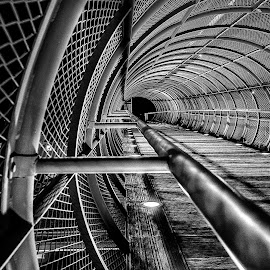 leading lines by Eseker RI - Black & White Objects & Still Life