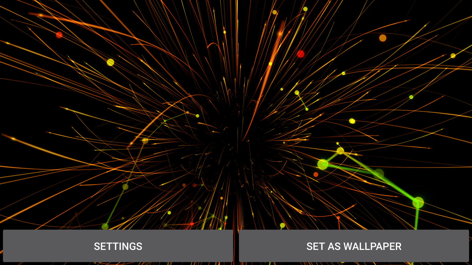 Abstract Particles Wallpaper Screenshot 9