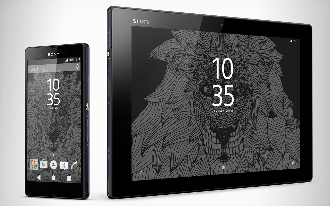 XPERIA™ Lion Theme Screenshot 3