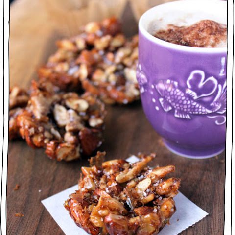 Salted Caramel Maple Nut Clusters