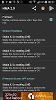 Screenshot of Novum Motion Actions