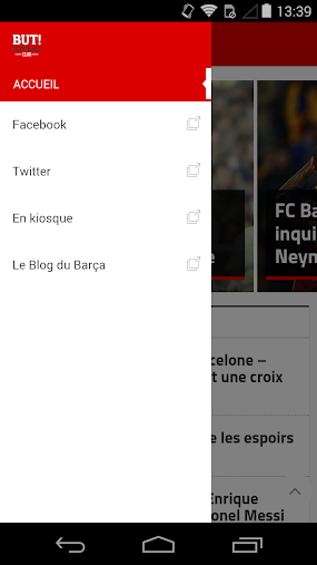 But! FC Barcelone APK