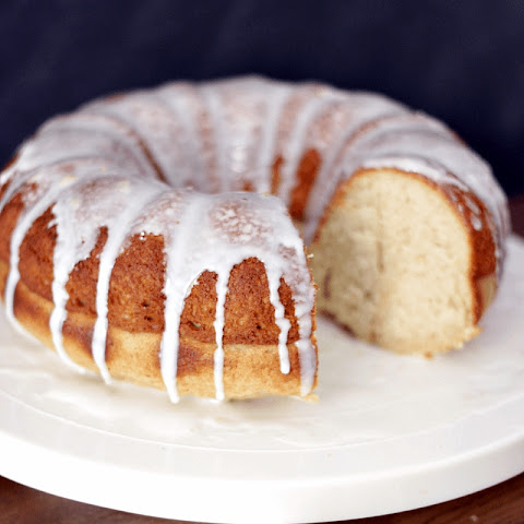 Butter Pecan Bourbon Cake with a Kentucky Bourbon Glaze