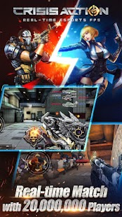 Crisis Action-Best free FPS APK for Ubuntu
