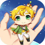 A Girl and The Little Prince Icon