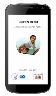 CDC Milestone Tracker Fitness app screenshot for Android