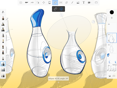 Autodesk SketchBook Screenshot