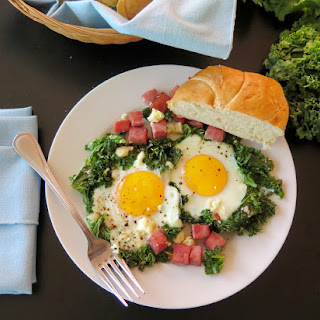 Greens & Eggs & Ham #WeekdaySupper