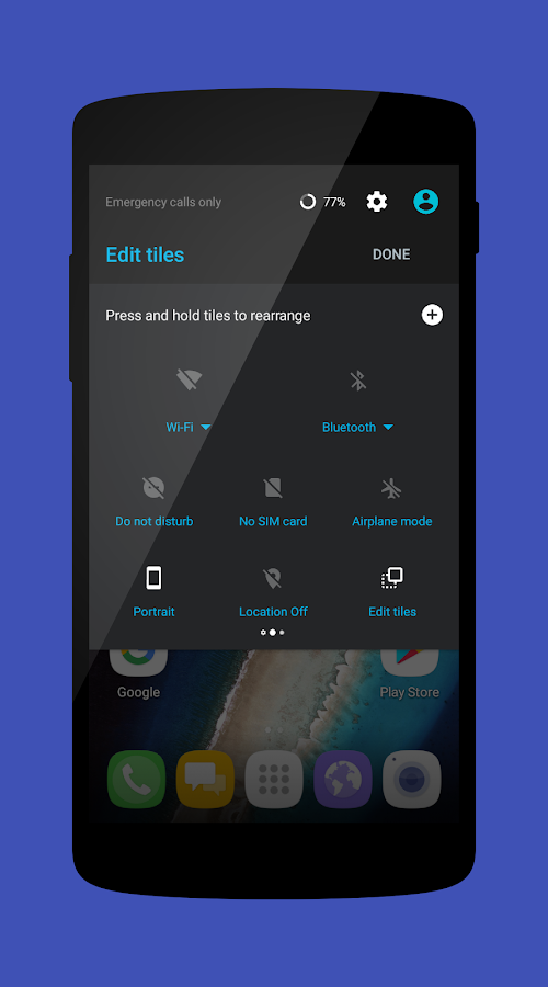 Cm13 Material Nougat 7 Screenshot 10