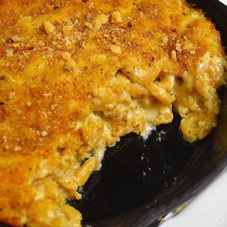 Real-deal Baked Skillet Mac & Cheese