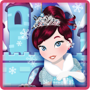 Ice Princess Frozen Castle