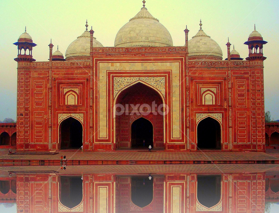 A structure at Agra by PINAKI MITRA - Buildings & Architecture Public & Historical