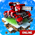Blocky Cars Online fun shooter