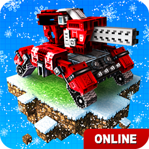 Blocky Cars Online fun shooter APK for Blackberry