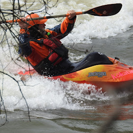 WHITE WATER FUN by Larry Moore - Sports & Fitness Watersports