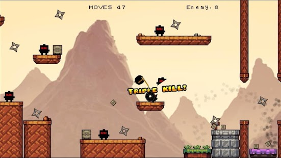 Orange Ninja: Secure Mission - screenshot