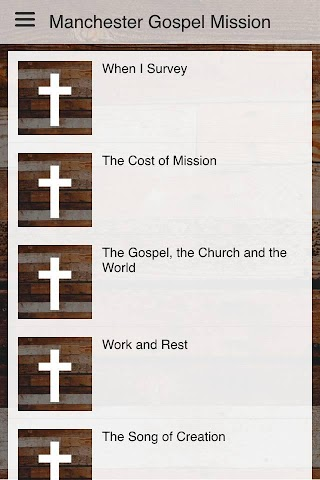 android Manchester Gospel Mission Screenshot 2
