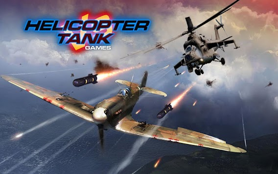 Helicopter Tank Games apk screenshot