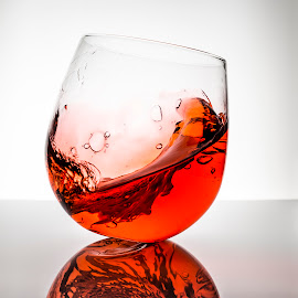 Red drink by Dominic Thibeault - Food & Drink Alcohol & Drinks