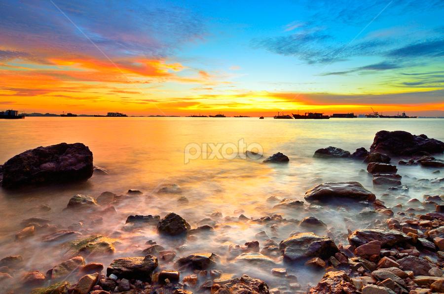 Charm of Sunset by Irwansyah St - Landscapes Sunsets & Sunrises