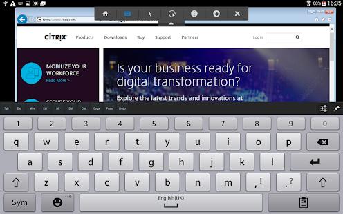 App Citrix Receiver APK for Windows Phone