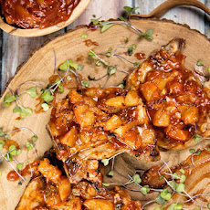 Breakfast Thyme Pork Chops with Quick-Cooked Apples Recipe   Yummly
