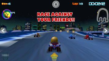 Screenshot of PAC-MAN Kart Rally by Namco