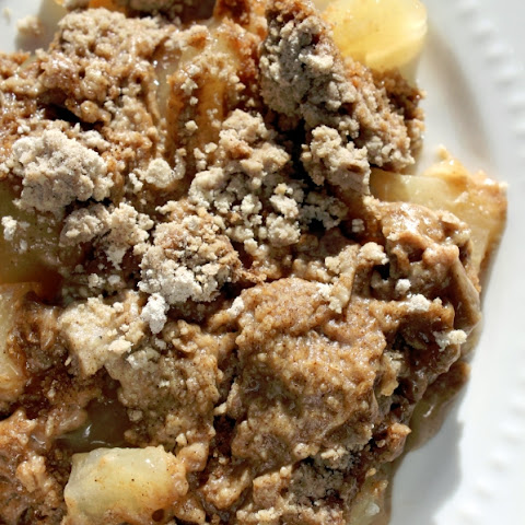 Super easy Crock Pot Apple Spice Dump Cake