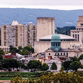 Harrisburg City by Gregory Evans - Buildings & Architecture Office Buildings & Hotels ( building, harrisburg, city )