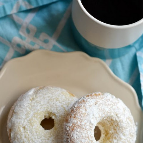 Gluten Free Powdered Sugar Doughnuts