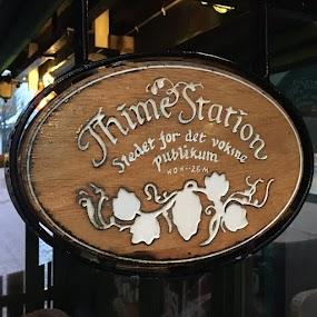 Thime Station før og itte Fredag