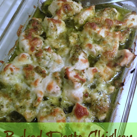 Baked Chicken Breasts Stuffed With Sage-Pecan Pesto And Feta Recipe ...