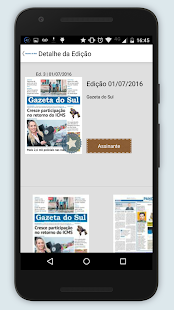 Gazeta do Sul Digital - screenshot