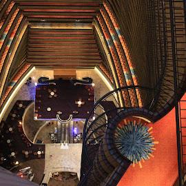 Bird's Eye View by Choc Genius - Buildings & Architecture Architectural Detail ( interior, symmetry, architecture, design, hotels )