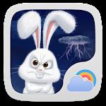 Mr Rabbit GO Weather Theme Icon