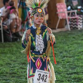 Indian Dance by Debbie Slocum Lockwood - Babies & Children Children Candids