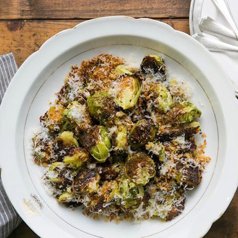 Oven-Fried Brussels Sprouts