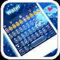 Water Emoji Keyboard Theme APK for Lenovo