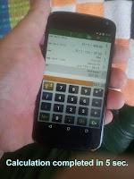 Screenshot of Calculator or spreadsheet ?