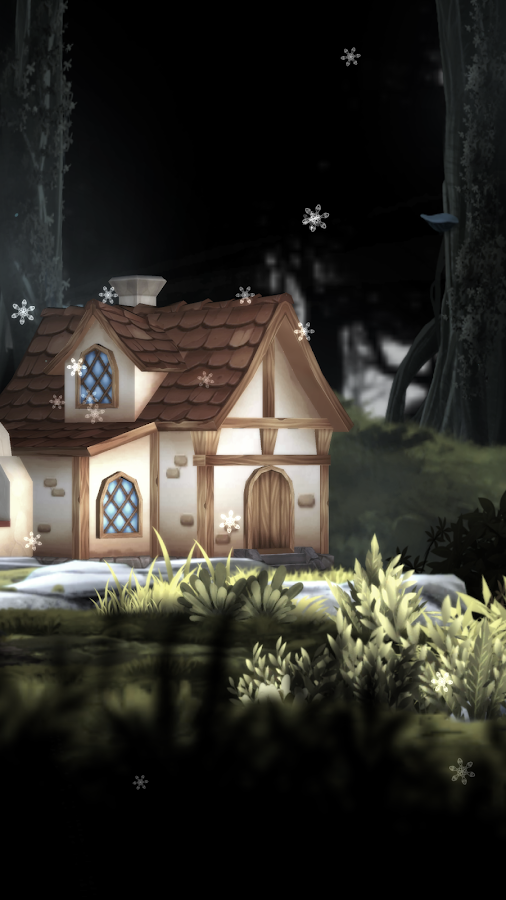 3D Forest House Full LWP Screenshot 7