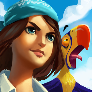You are stranded on a tropical island. Explore it and craft items to survive! APK Icon
