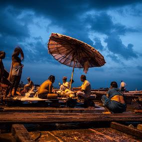 by Manish Mishra - City,  Street & Park  Street Scenes