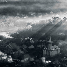 autumn morning by Cristina Gusatu - Landscapes Travel