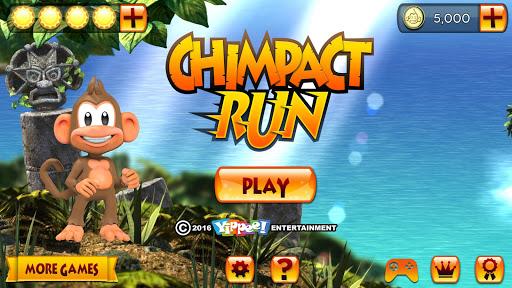 Chimpact Run TV - screenshot